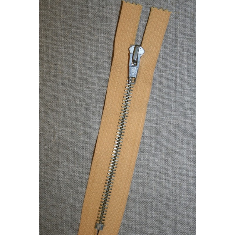 15 cm. metal lynlås carry-gul