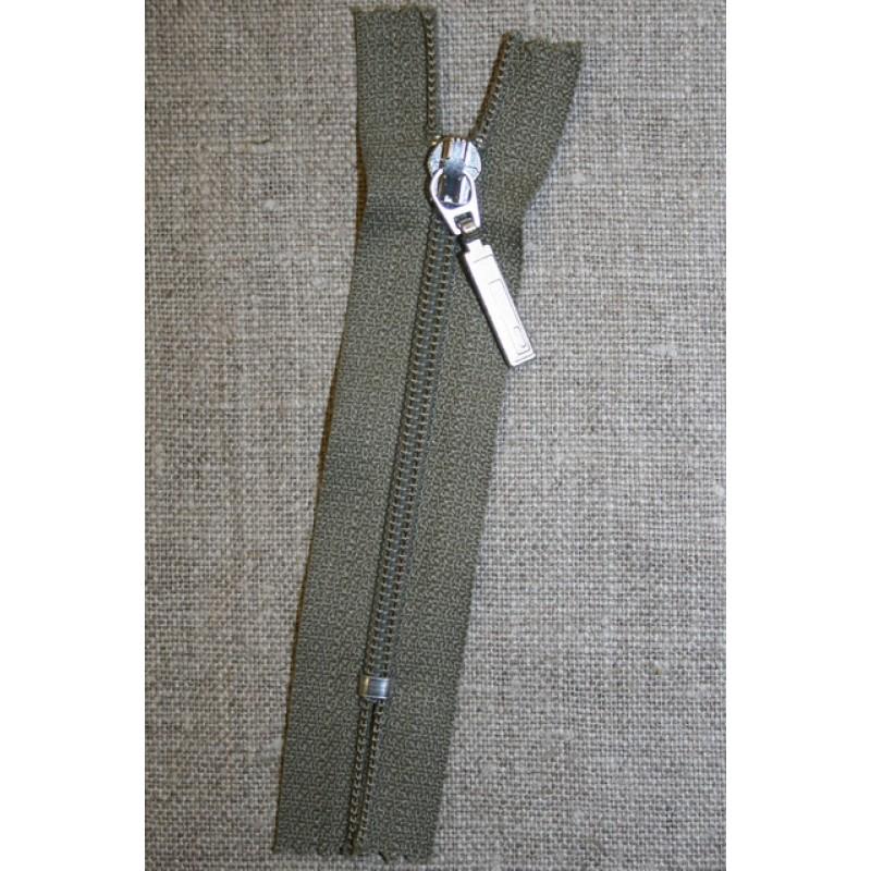 08 cm m/sølv vedhæng, oliven