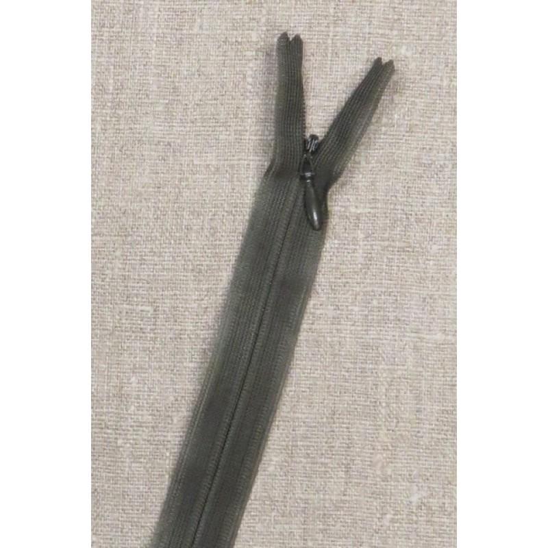 16 cm usynlig lynlåse, army