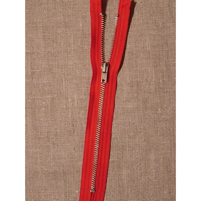 18 cm. metal rød-31