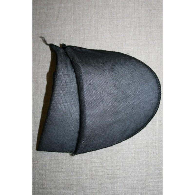 Skulderpude tynd, sort-31