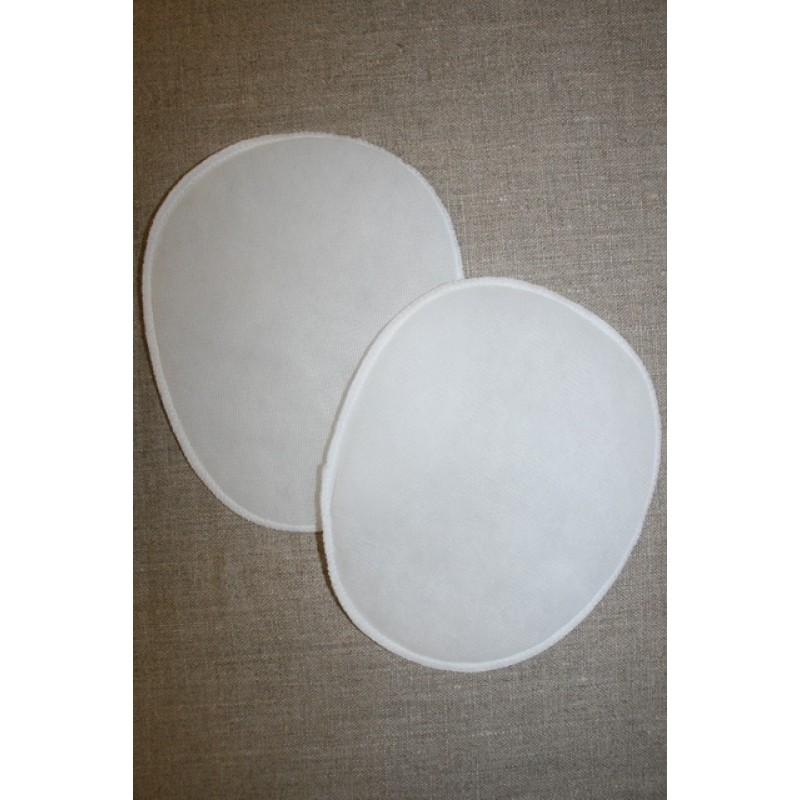 Skulderpude tynd oval, hvid-33