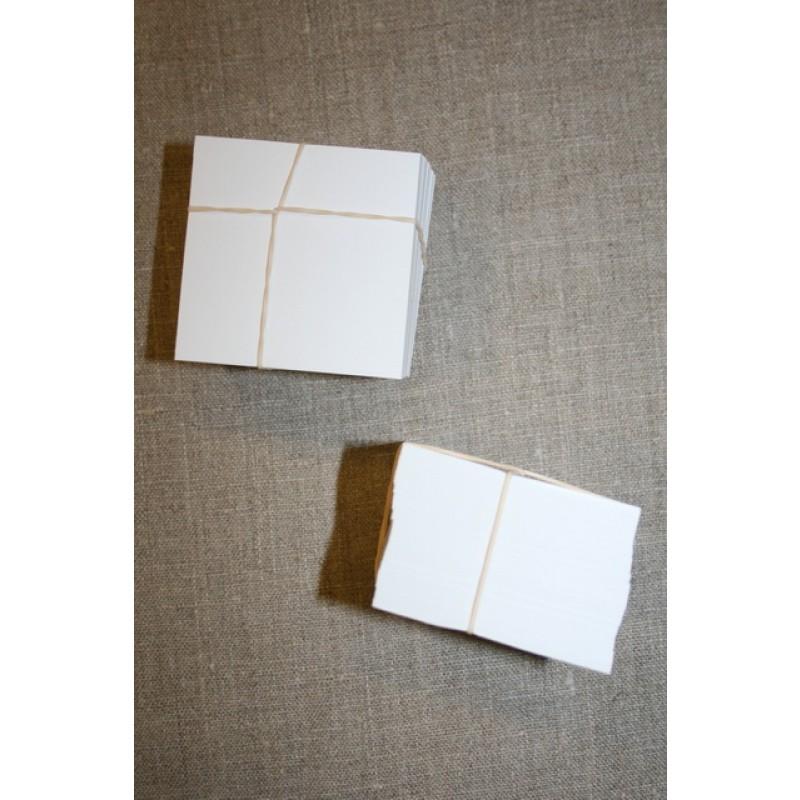 Firkantet pap til patchwork, 6x6 cm.-35