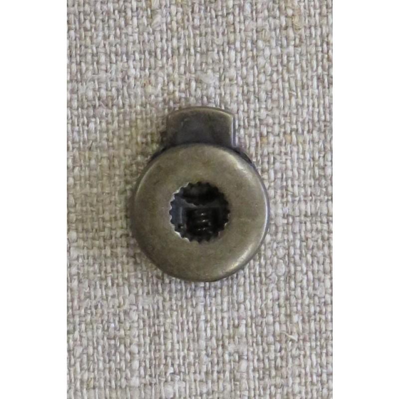 Snorstopper i metal i gammel guld-34
