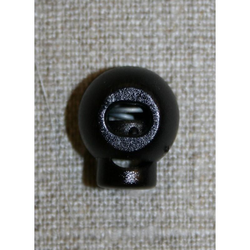 Snorstopper lille rund, sort-33