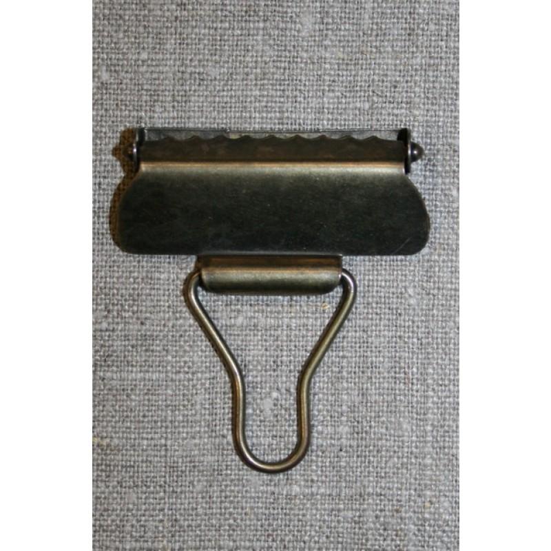 Overall spænde gl.guld 40 mm.-34