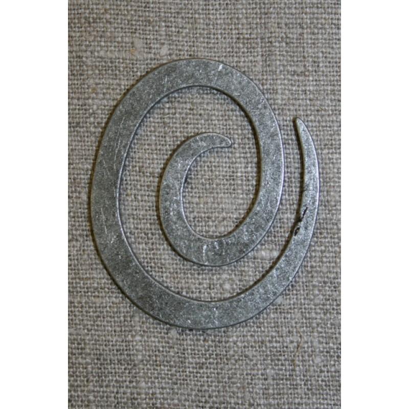 Spiral til strik, gl.sølv-35