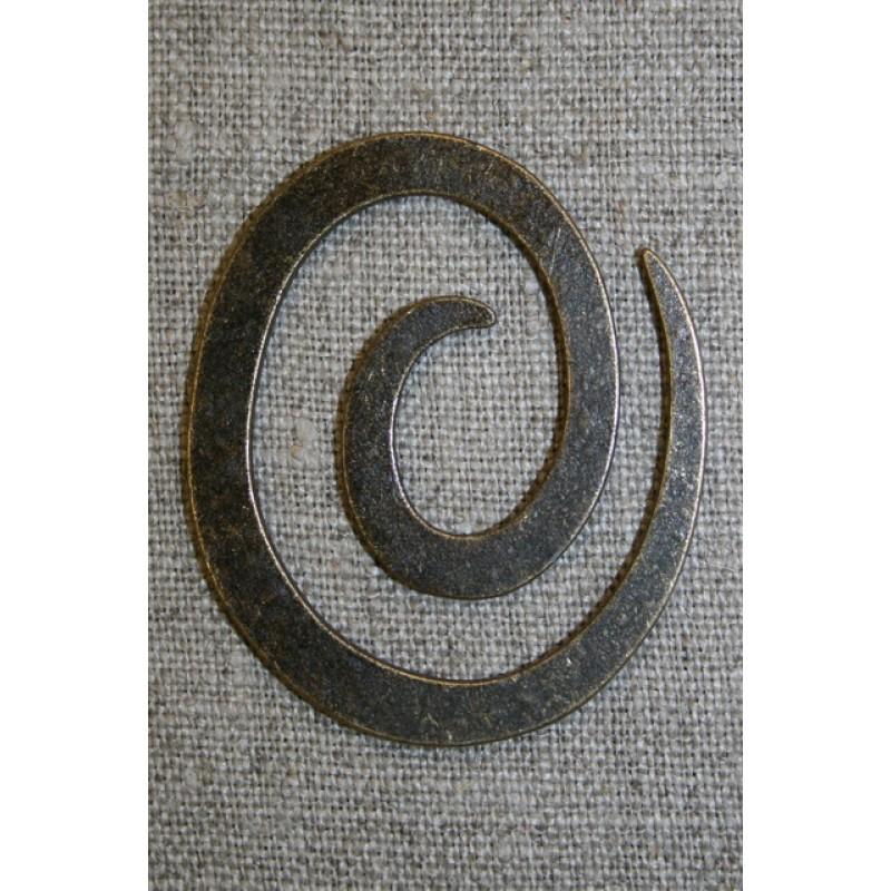 Spiral til strik, gl.guld