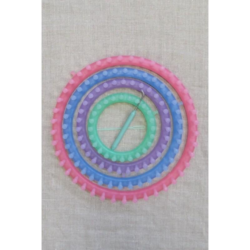 Knitting ringe / Strikkeringe i 4 str.-34