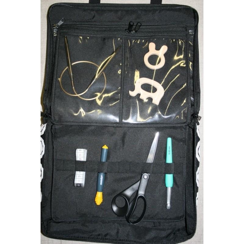 Taske til tilbehør/strik