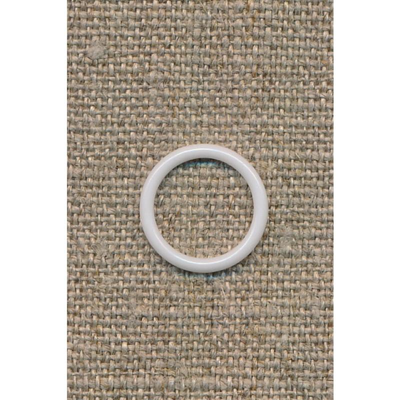 BH-ring 12 mm. hvid