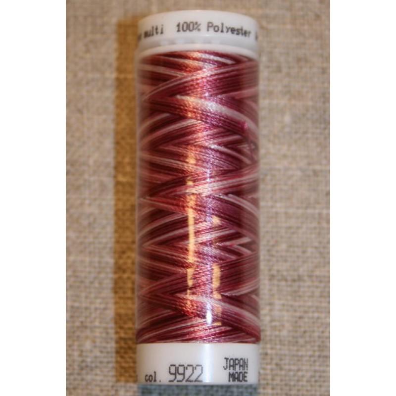 Broderitråd Mettler, multi bordeaux-rosa-lyserød-31