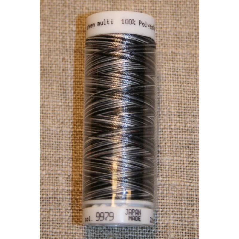 Broderitråd Mettler, multi sort-grå-31