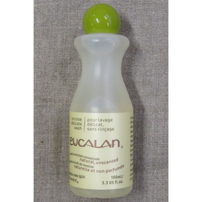 Uld vaskemidde med lanolin / Eucalan 100 ml. neutral