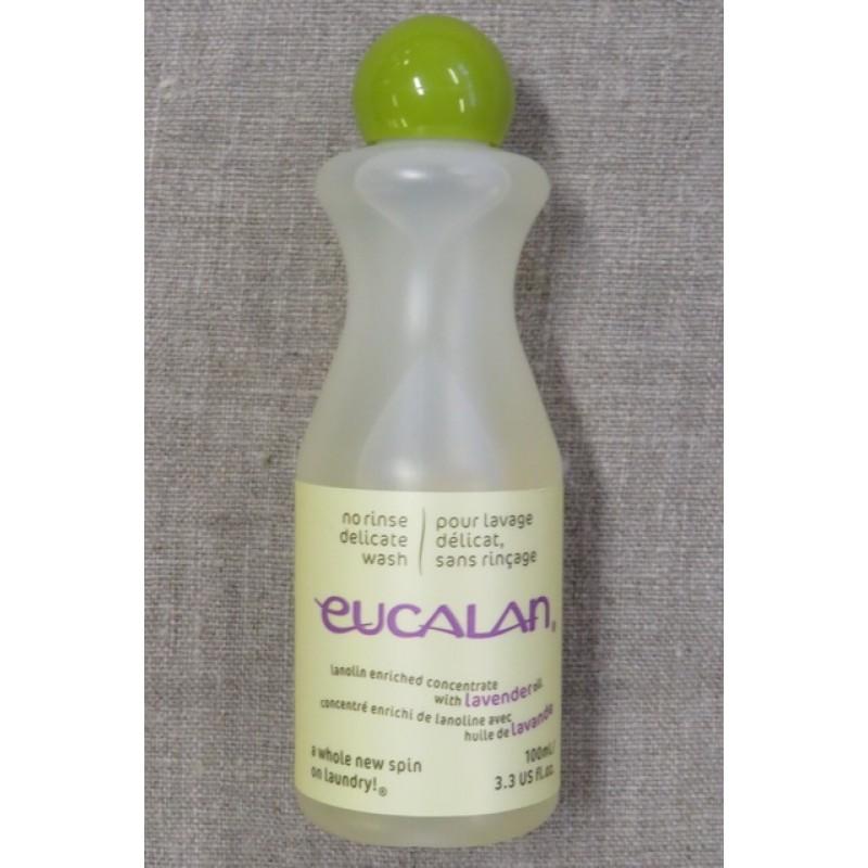 Uld vaskemidde med lanolin / Eucalan 100 ml. lavendel