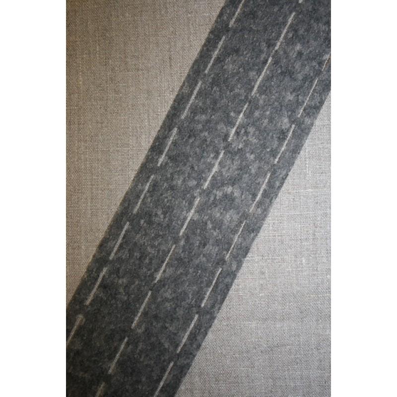 Stanse-/linningsbånd, grå-31