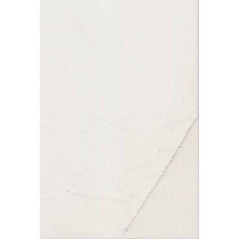 Vlies/vævet indlæg m/bi-stræk, hvid