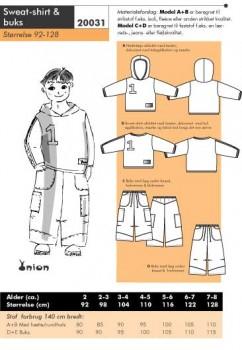 Onion 20031 -Sweat-shirt & buks.