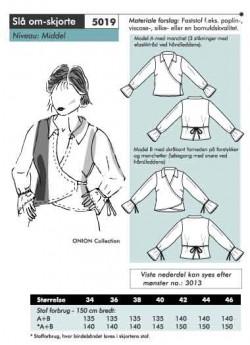Onion 5019 -Slå om-skjorte