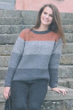 1671 Stribet sweater