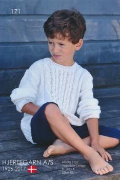 171 Hæfte med 6 strikopskrifter til børn