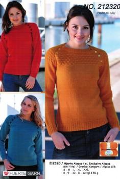 212320 Sømandssweater