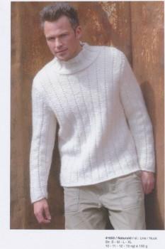 41653 Tyk herre-sweater