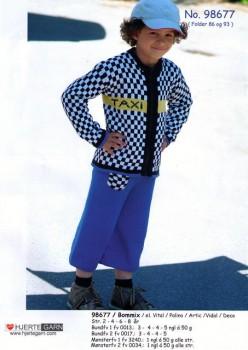 98677 Drenge bukser & cardigan