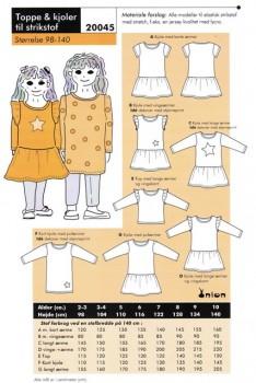 Onion 20045 -Toppe & kjoler til strikstof