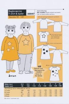 Onion 20047 -Raglanærme T-shirt & kjole