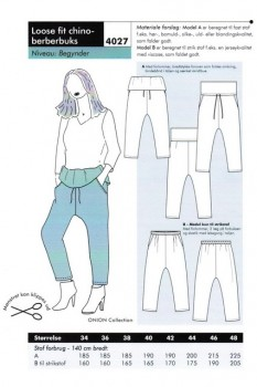 Onion 4027 Loose fit chino-berberbuks
