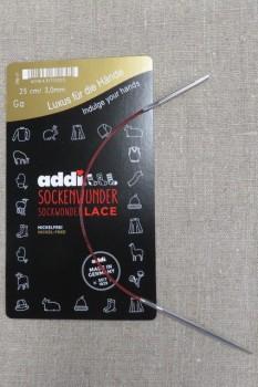 Rundpind Addi Lace Sock wonder str 3 / 25 cm.