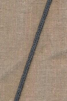 Anoraksnor 6 mm. grå-meleret