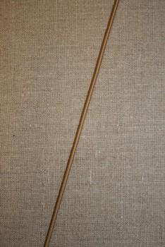 Elastik-anoraksnor lysebrun 2 mm.