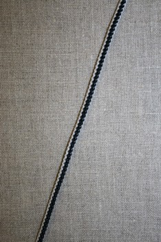2-farvet anoraksnor sort/hvid
