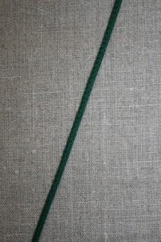Anoraksnor bomuld 3,5 mm. flaskegrøn
