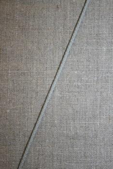 Anoraksnor bomuld 3,5 mm. lysegrå