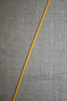 Anoraksnor bomuld 3,5 mm. gul