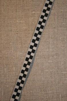Ternet bånd i målflags-tern sort kit