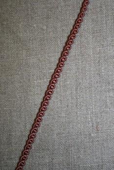Agraman smal brun-rosa, 4 mm.