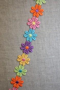 """Blomsterbånd """"flower power"""""""