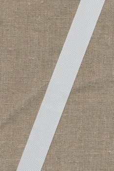 Grosgrainbånd 25 mm. hvid