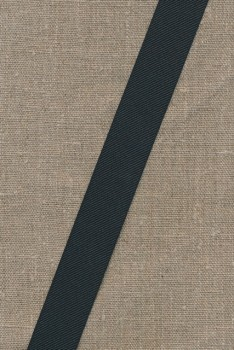 Grosgrainbånd 25 mm. sort