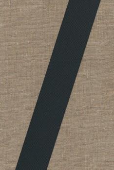Grosgrainbånd 40 mm. sort