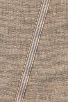 Grossgrainbndsmalstribetihvidogstvetbrun10mm-20