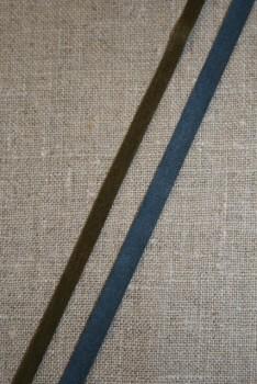 Alcantara-bånd oliven