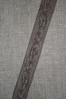 Nylonblonde 20 mm. brun