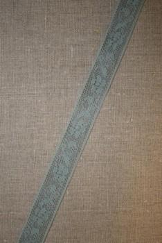 Nylonblonde 20 mm. støvet lysegrøn