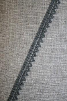 Rest Smal blonde med takker, grå- 65 cm.