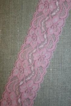 Strækblonde rosa, 55 mm.